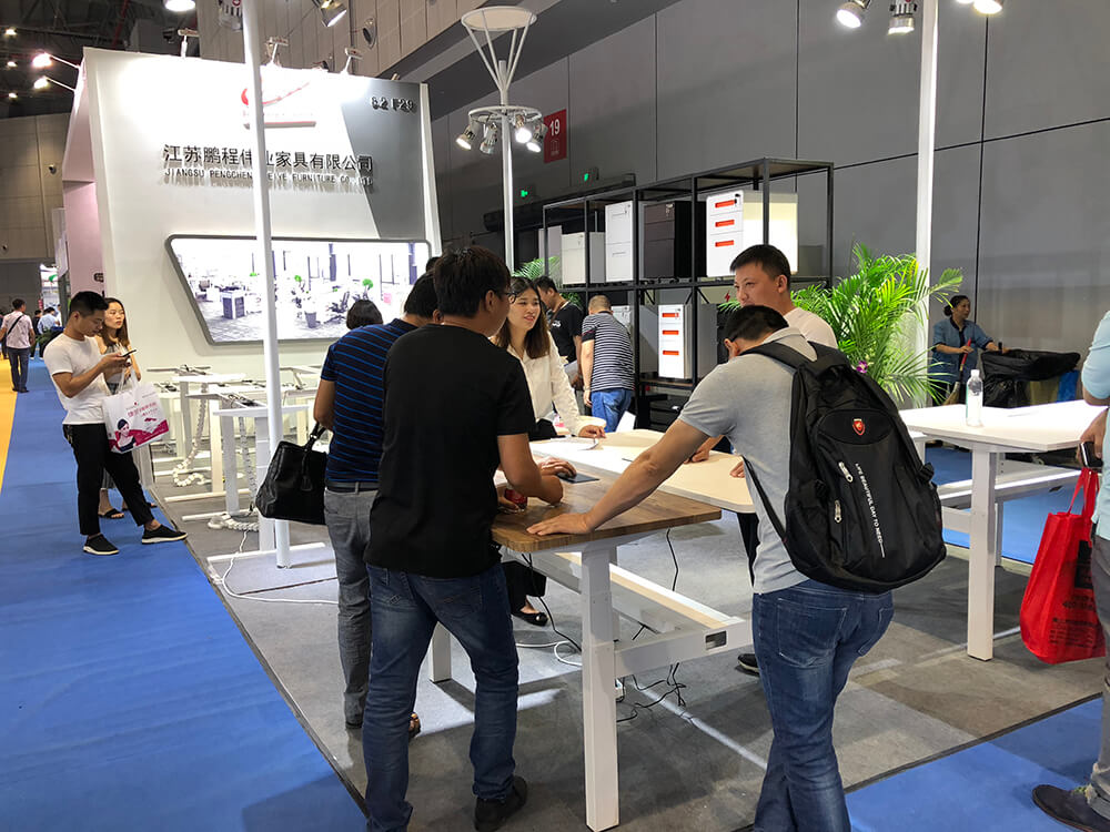 Pengcheng Furniture attracted visitors'